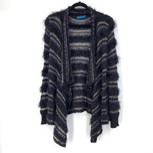 Alice & Olivia Approx Sz S Open Waterfall Cardigan